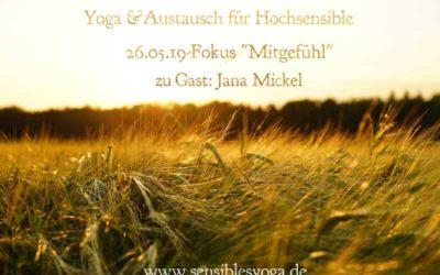 Yoga & Austausch für Hochsensible